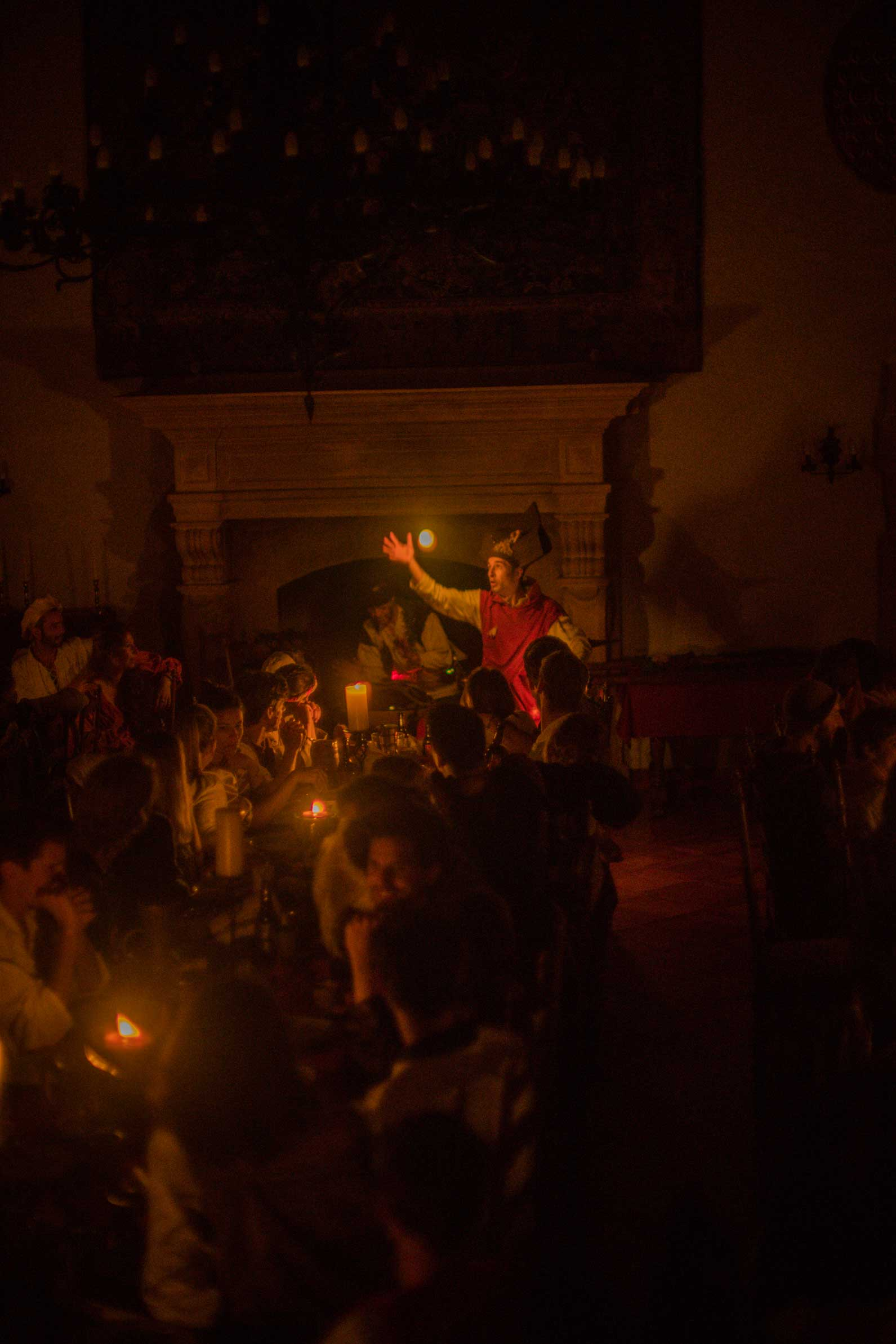Illuceo! Spectacle lumineux féerique au château de Vaumarcus